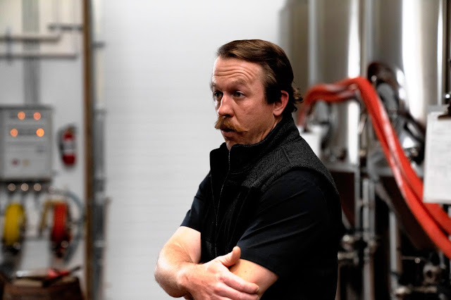 Brewer Justin Zimmerman at Old 290 Brewery