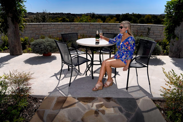 Scenic outlook at the winery at Carter Creek Resort and Spa