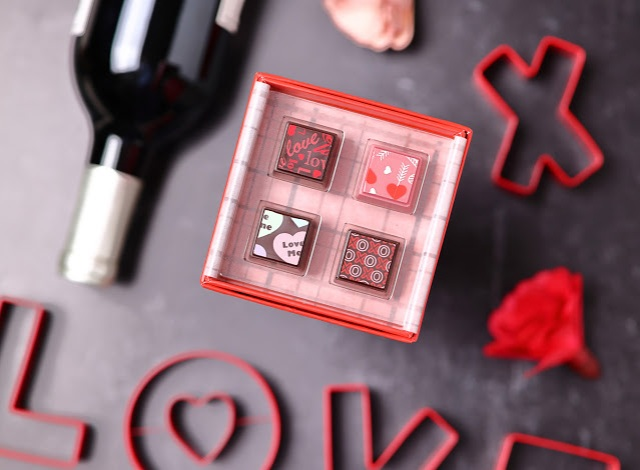 Budding Romance Truffle Pairing with Delysia chocolatier